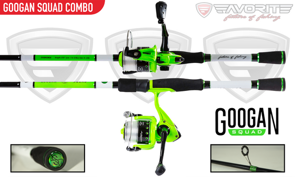 Googan Spinning Combo