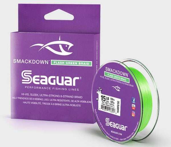 SEAGUAR SMACKDOWN BRAIDED PERFORMANCE FISHING LINE