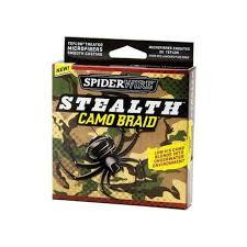 SPIDERWIRE STEALTH CAMO-BRAID FISHING LINE-High Falls Outfitters