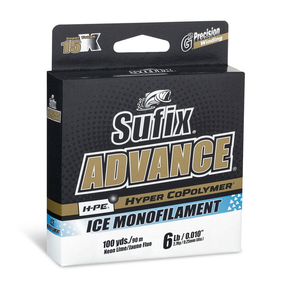 SUFIX ADVANCE HYPER COPOLYMER ICE MONOFILAMENT