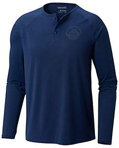 COLUMBIA - OMNI SHADE TRAIL SHAKER III LONG SLEEVE HENLEY BUTTON UP