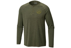 COLUMBIA - TRAIL SHAKER III LONG SLEEVE HENLEY BUTTON