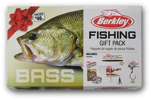 BERKLEY BASS FISHING GIFT PACK - $50.00 Value