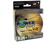 POWER PRO SUPER 8 SLICK MICROFILAMENT BRAIDED LINE