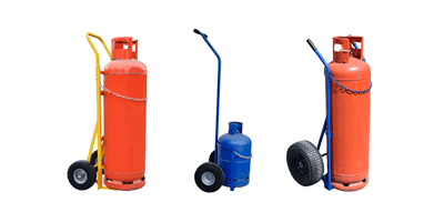 Sack Trucks, Trolleys for Gas Bottles