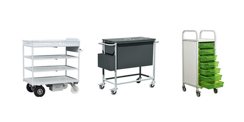 Hospital Trolleys and Handling