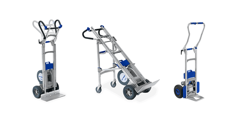 Powered Stair-Climbing Sack Trucks