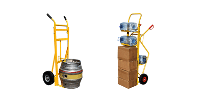 Sack Trucks for Keg, Water Bottle, and Beverages