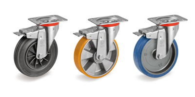 Trolley Castors and Wheels