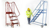Heavy Duty Mobile Safety Steps Platforms