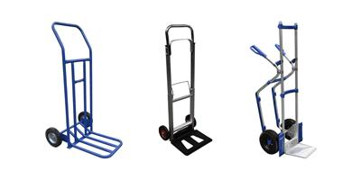 Cheap and Lightweight Sack Trucks and Barrows