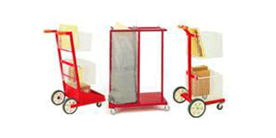 Mail Room and Post Room Trolleys, Carts and Sack Trucks