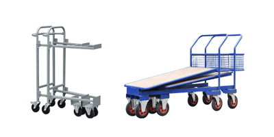 Stacking and Nesting Trolleys