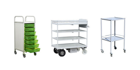 Shelf Trolleys & Security Cages