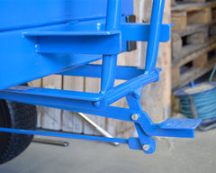 Long Load Turntable Trolley Brake Pedal 1000x800