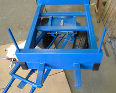 Long Load Turntable Trolley Steering Mechanism 1000x800