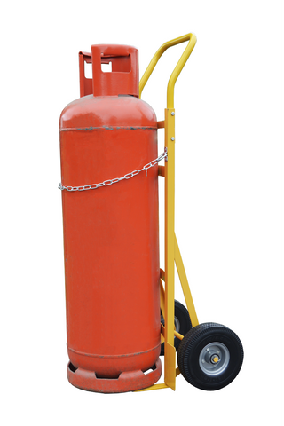 gas bottle sack truck