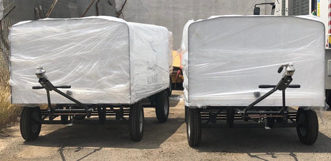 Kuwait Airways Luggage Trailers