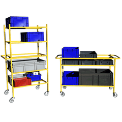 Modular Frame Shelf Trolley