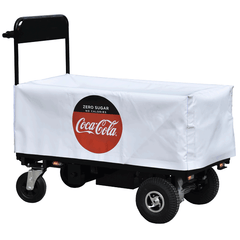 Powered Trolley with Coca Cola Branding