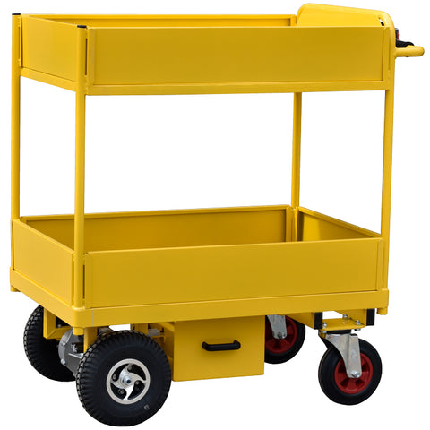 Powered Tier Trolley for Royal Oldham Hospital