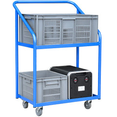 Bespoke Power Pack Moving Two Tier Trolley