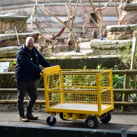 Powered Trolley at Paignton Zoo