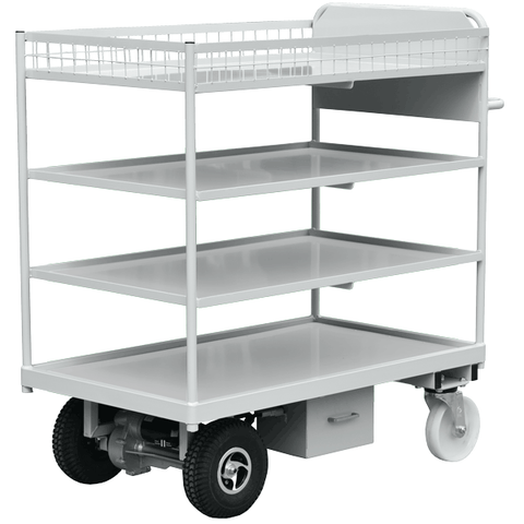 Powered Shelf Trolley for The League Of Friends