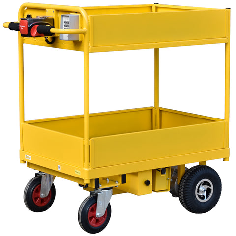Powered Trolley with Security Lock Ignition