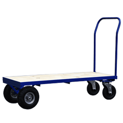 rough terrain flatbed trolley