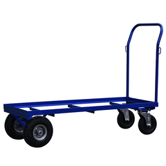 chair stack moving flatbed trolley