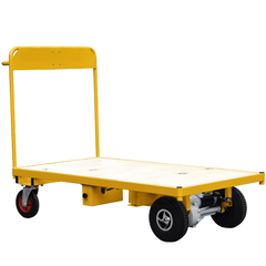 Power Trolley with Wooden base