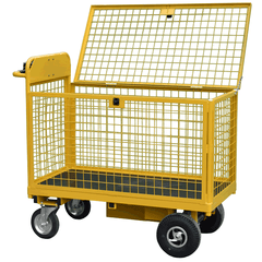 Full Security Cage Powered Trolley