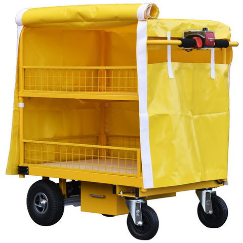 Roll Up Powered Trolley Cover