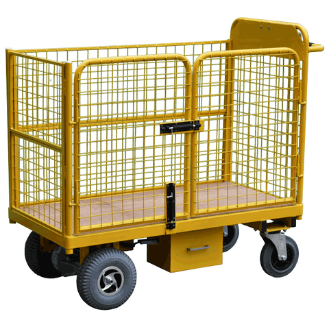 Powered Trolley with Access Gate
