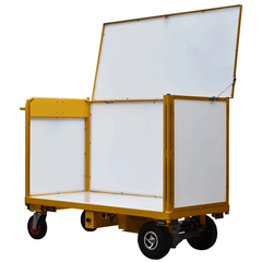 Powered Trolley with Plastic Base