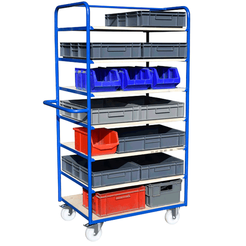 Kan ban parts bin trolley