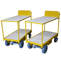 Two Tier Powered Trolleys