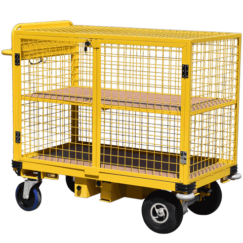 Full Security Cage Trolley