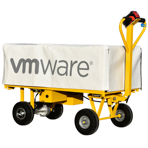 Powered Trolley with Cover for VM Ware