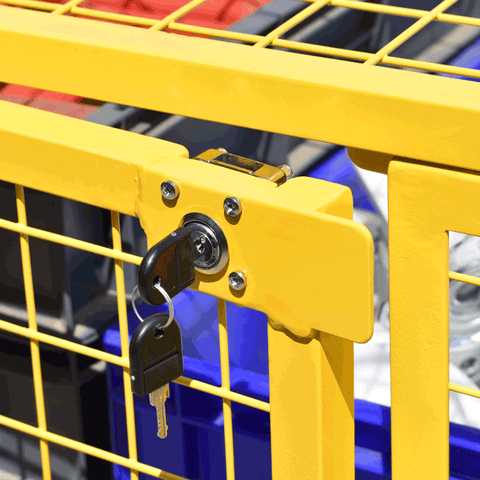 Cage Trolley Security Lock