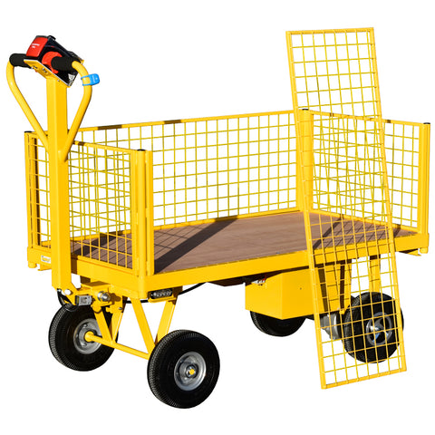 Powered Turntable Trolley for VM Ware