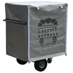 Food Cart With Branded Cover