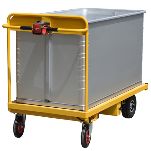 Powered Trolley with Zarges Unit