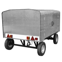 Airport Baggage Trailer