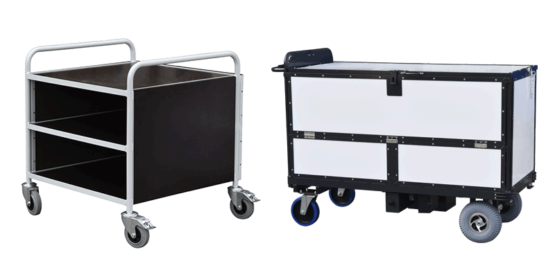 Materials used in trolley manufacturing