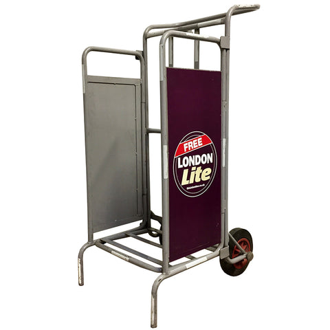 Folding News Stand Trolley
