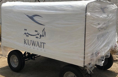 Kuwait Airport Baggage Trailer