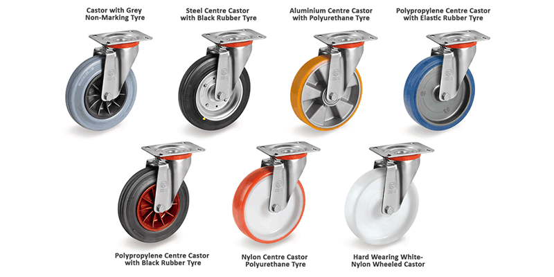Trolley Wheel Options