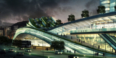 Kowloon Bay Express Rail Link Concept Art